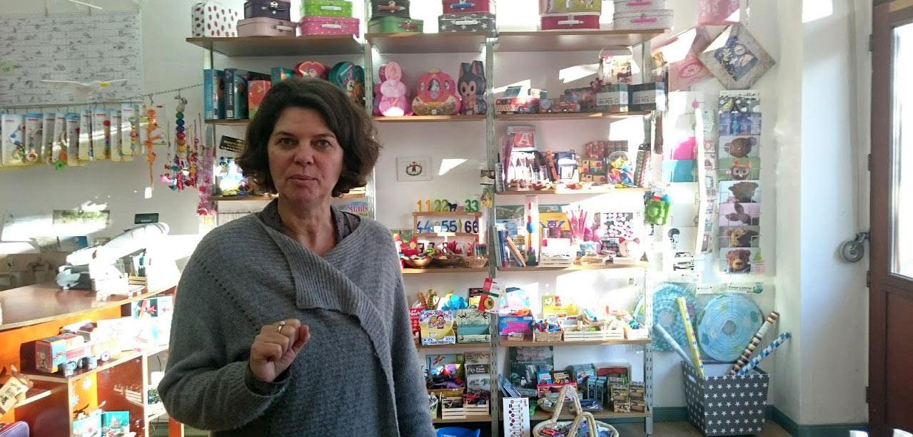 Inhaberin Sönneken Spielzeugläden Berlin